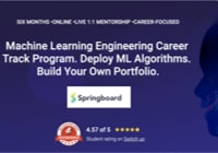 Table image ML Courses - Spingboard