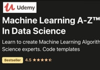 Table image ML Courses - Udemy