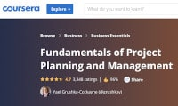 Fundamentals of Project Planning - Course Image