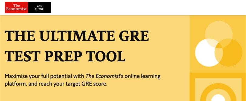 Image Best GRE Courses - The Economist GRE Prep