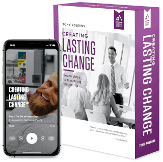 Image of Tony Robbins Courses - Creating Lasting Change