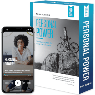 Image of Tony Robbins Courses - Personal Power