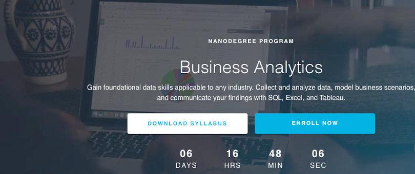 Image Best Udacity Nanodegrees - Business Analytics