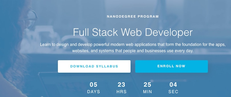 Image Best Udacity Nanodegrees - Become a Full Stack Developer