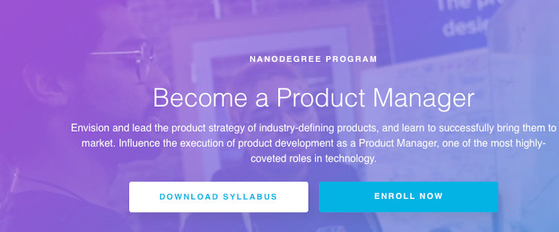 Image Best Udacity Nanodegrees - Become a Product Manager