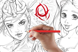 image of Best Udemy Courses - Character Art School - Drawing Course
