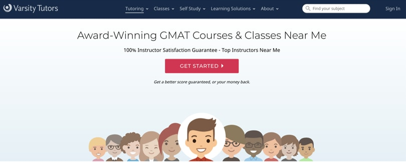 Image GMAT Test Prep Courses - Varsity Tutors GMAT Prep