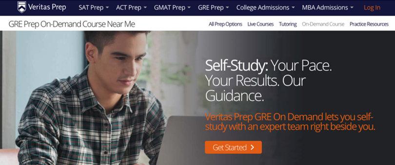 Image Best GRE Courses - Veritas Prep GRE Prep