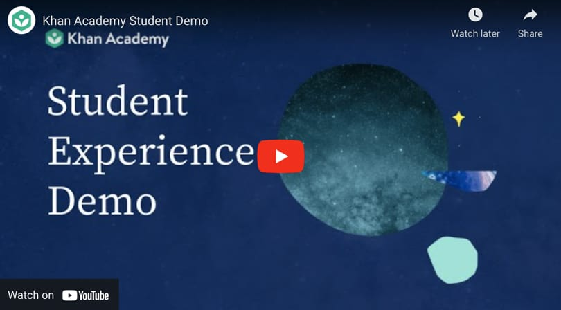 Image Khan Academy Review - Video Student Experience