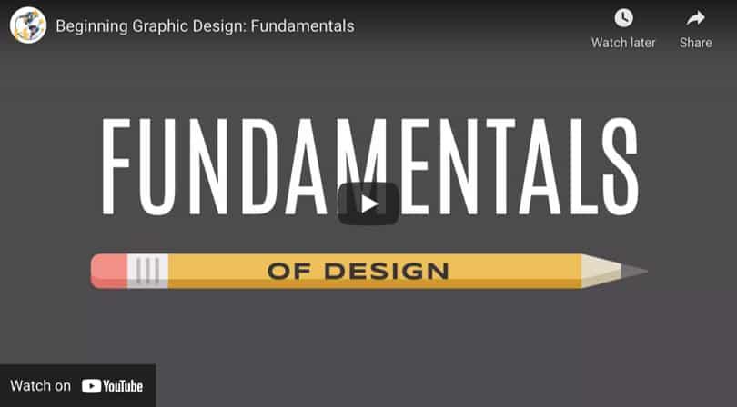 Image Video Learn Graphic Design Fundamentals
