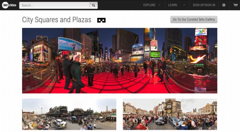 Image Virtual Field Trips - 360 Cities