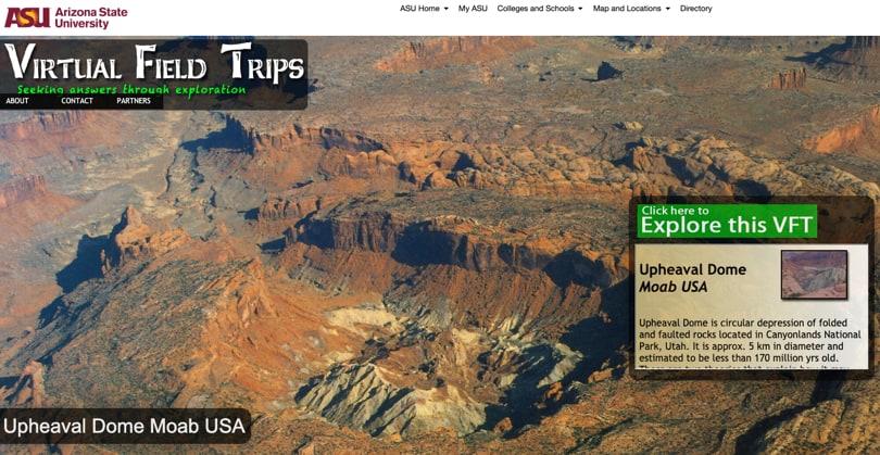 Image Virtual Field Trips - Arizona State University