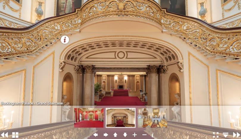 Image Virtual Field Trips - Buckingham Palace