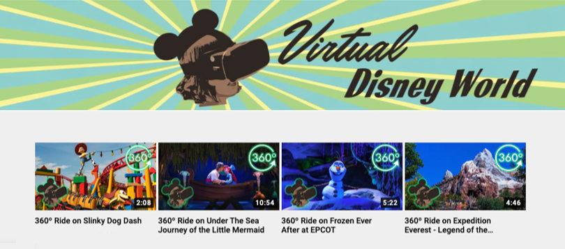 Image Virtual Field Trips - Virtual Disney World