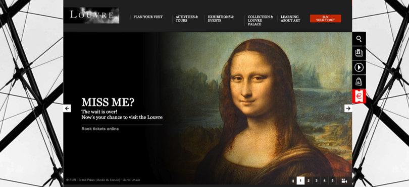 Image Virtual Field Trips - Louvre Museum