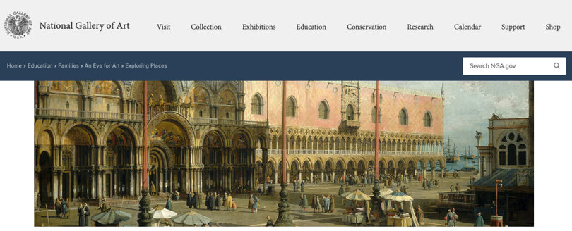 Image Virtual Field Trips - National Gallery of Arts