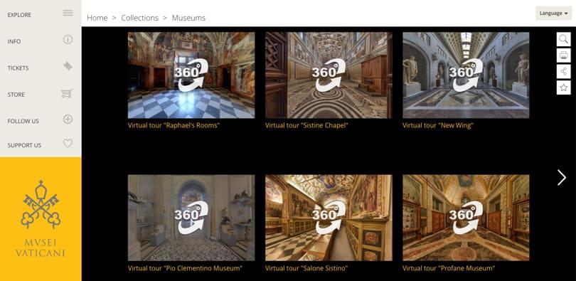 Image Virtual Field Trips - Vatican Museum