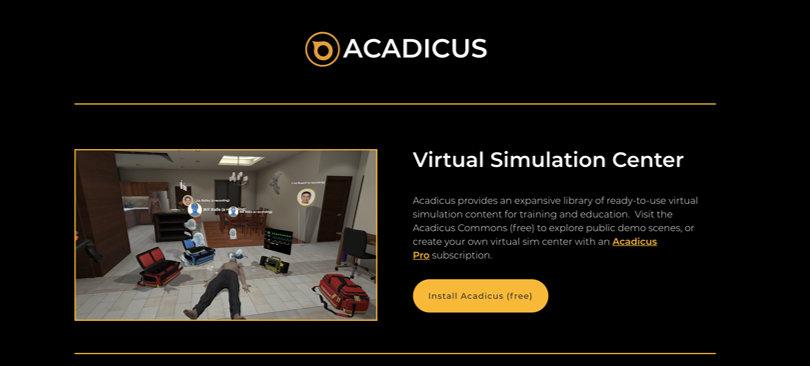 Image Best VR Apps - Acadius Platform