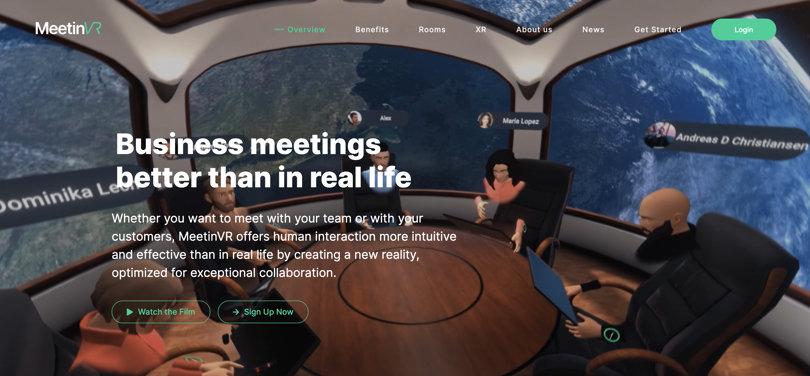 Image Best VR Apps - MeetingVR Platform