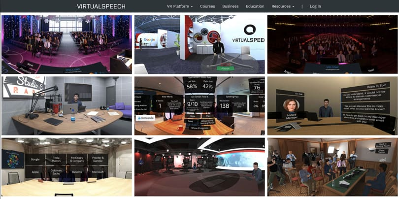 Image Best VR Apps - Virtual Speech Platform