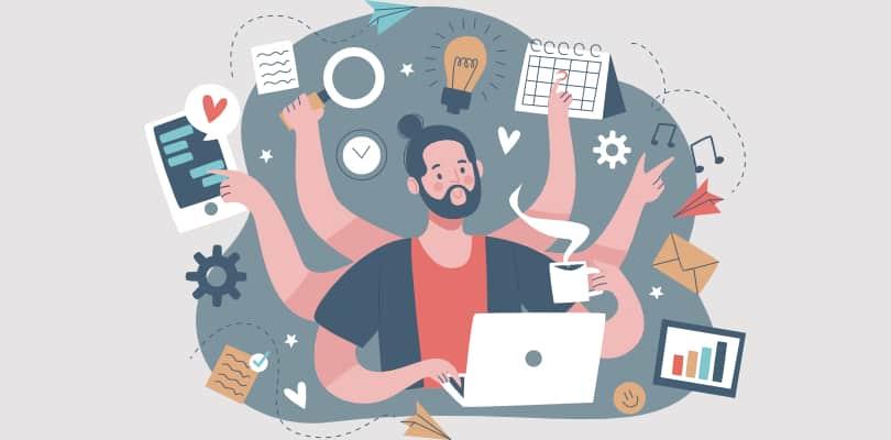 Image Work Life Balance Tips - Less Multitasking