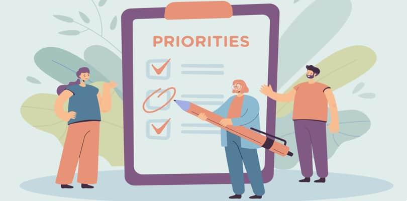 Image Work Life Balance Tips - Set Priorities